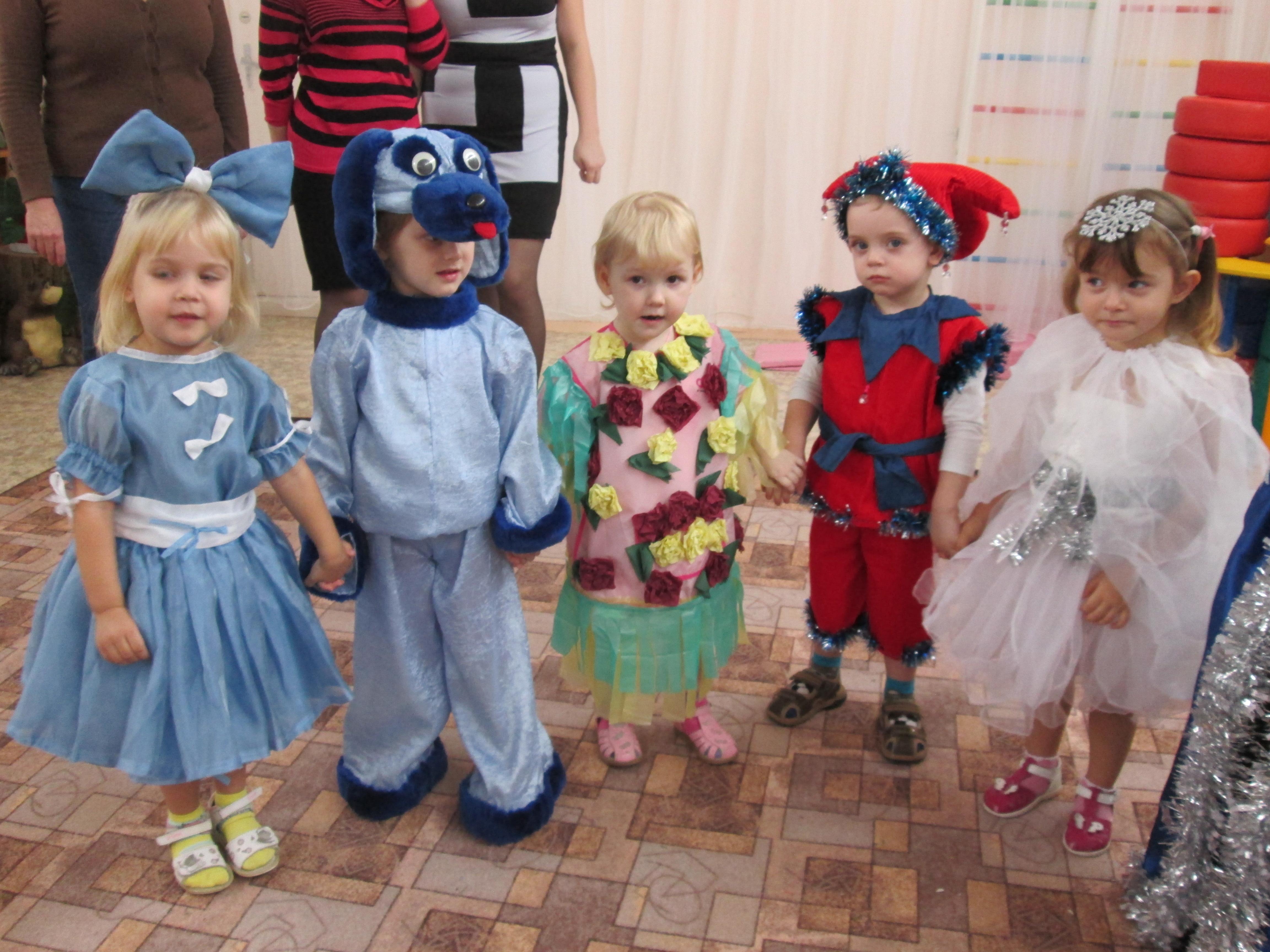 Детский сад новый год картинки