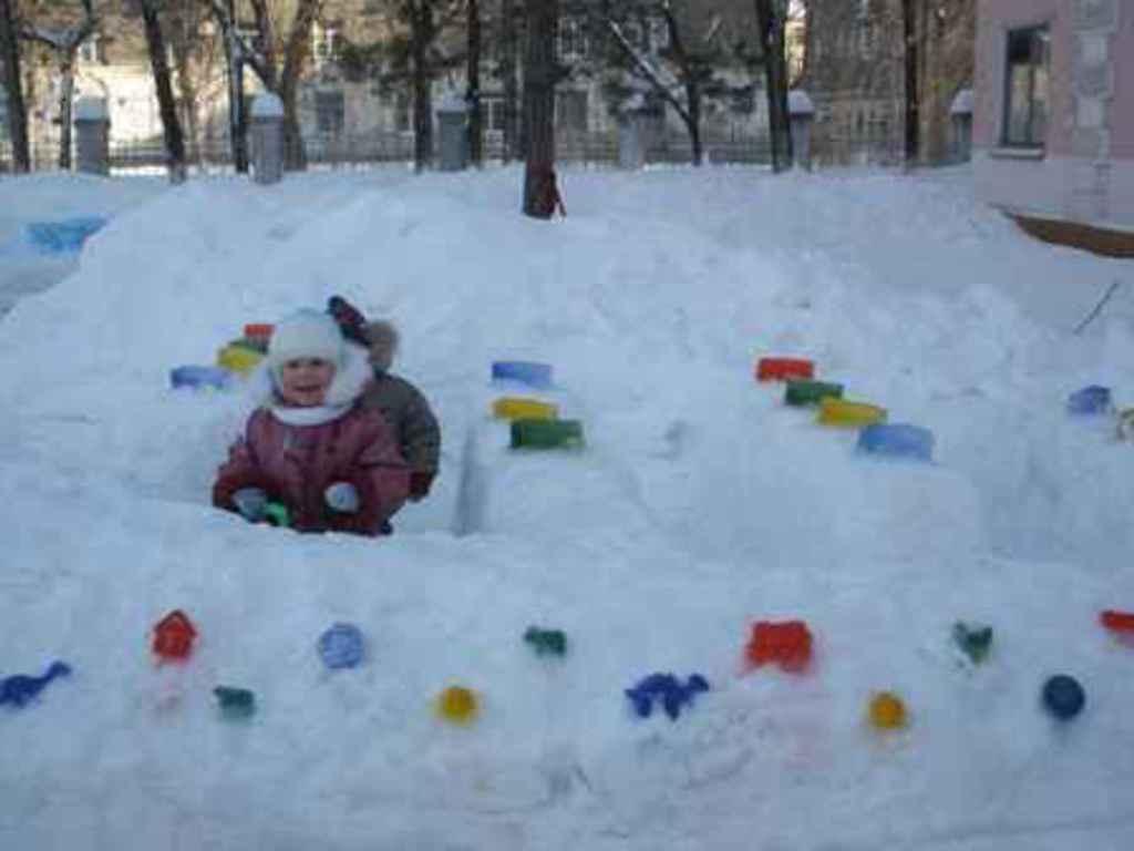 Для детей своими руками зимой 28